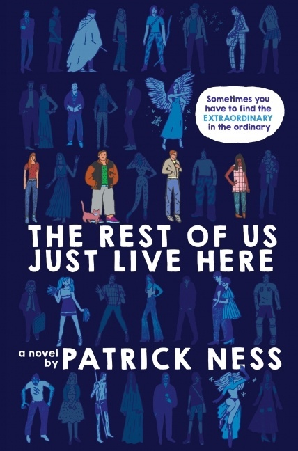 The Rest of Us Just Live Here US Cover Image