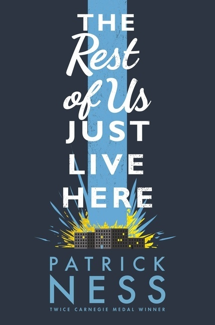 The Rest of Us Just Live Here UK Hardback Cover Image