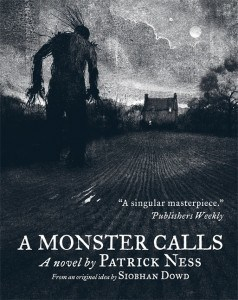 A Monster Calls Paperback Cover Image